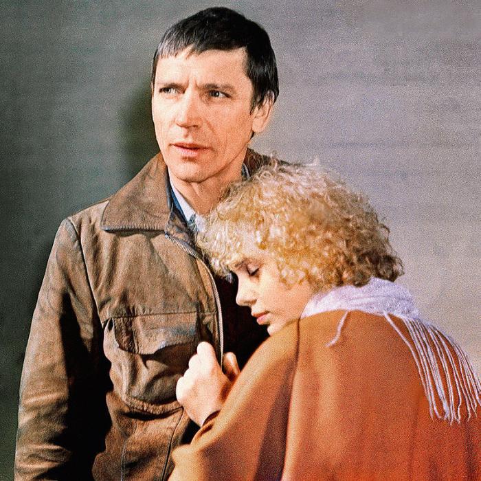 Валерий Приемыхов и Ольга Машная, кадр из фильма «Милый, дорогой, любимый, единственный...». / Фото: www.7days.ru