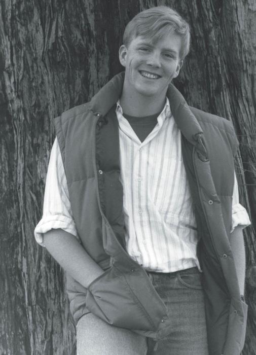 Принц Виллем-Александр в юности. / Фото: www.hola.com