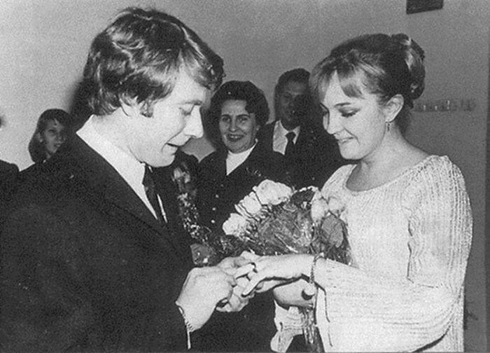 Андрей Миронов и Екатерина Градова в день бракосочетания. / Фото: www.foxy-fit.ru
