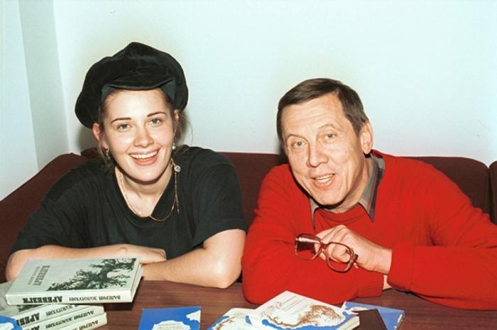 Валерий Золотухин и Ирина Линдт. / Фото: www.aif.ru