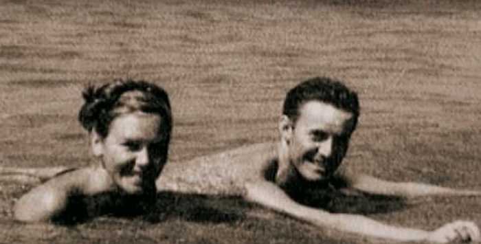 На отдыхе в молодости. / Фото: семейный архив