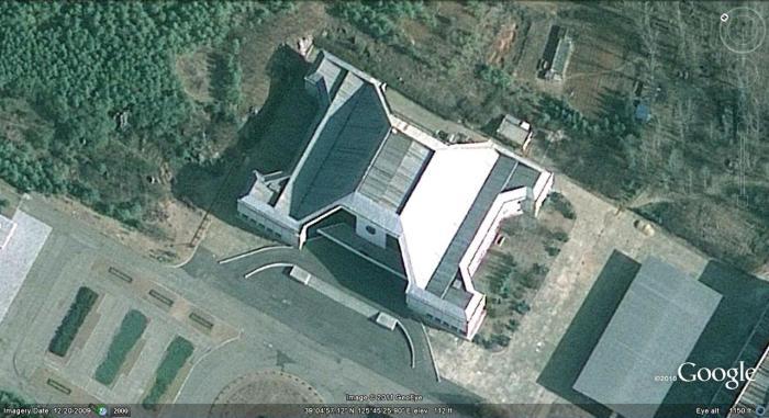 Комната 39 на карте Google. / Фото: www.nkeconwatch.com