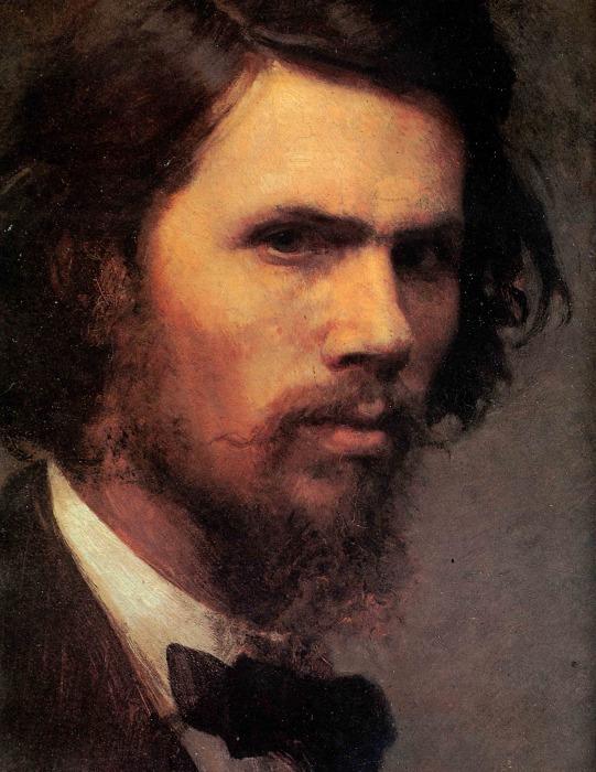 Иван Крамской. Автопортрет, фрагмент. / Фото: www.wmuseum.ru