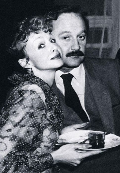 Наталья Седых с мужем Виктором Лебедевым. / Фото: www.7days.ru