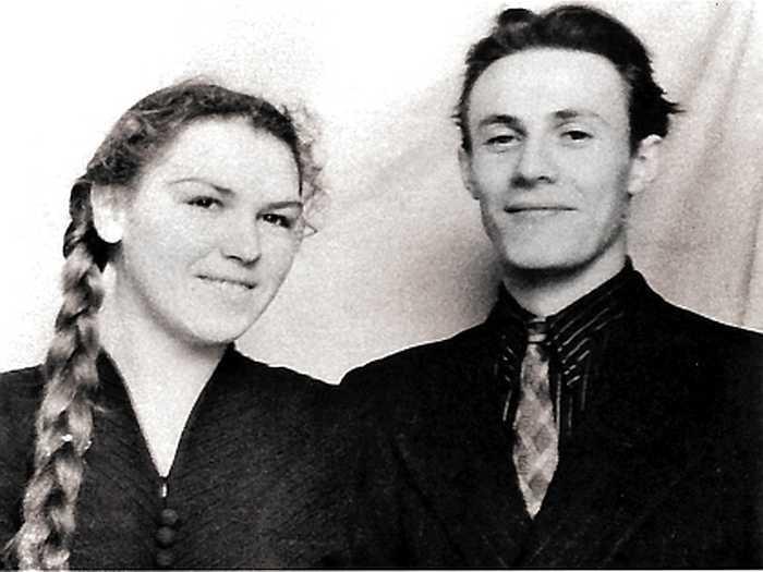 Юные Ольга и Юрий Соломины. / Фото: семейный архив