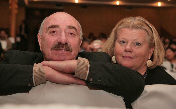 Ирина Муравьева и Леонид Эйдлин. / Фото: www.showbiz-news.ru