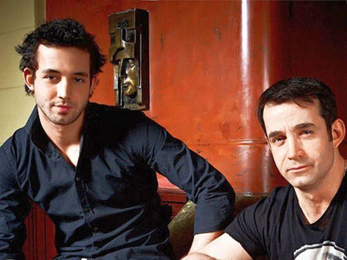 Дмитрий Певцов с сыном Даниилом. / Фото: www.thematicnews.com