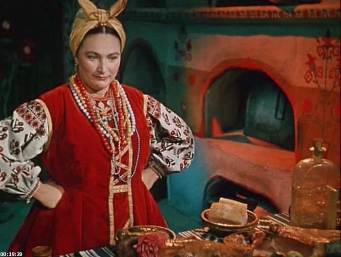 Людмила Хитяева в роли Солохи. / Фото: www.kak2z.ru