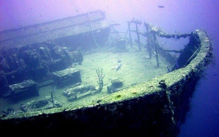 Где-то на дне Уссурийского залива спрятаны сокровища. / Фото: www.bigsasisa.ru
