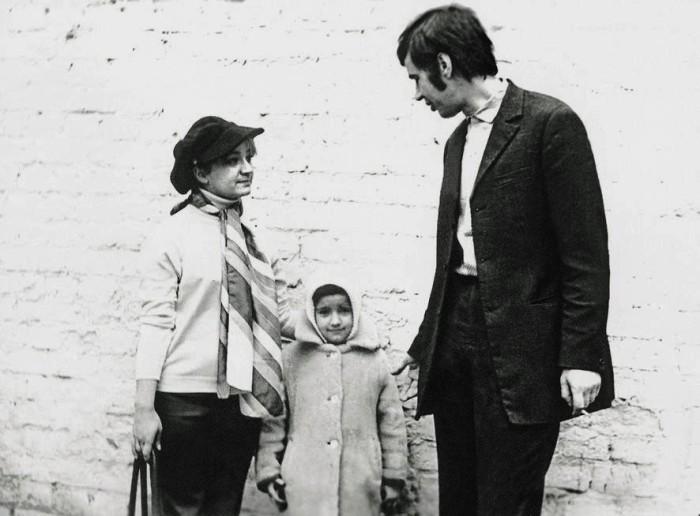 Георгий Бурков и Татьяна Ухарова с дочерью Марией. / Фото: www.hsmedia.ru
