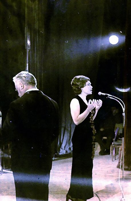 Майя Розова и Олег Лундстрем. / Фото: www.shanson.org