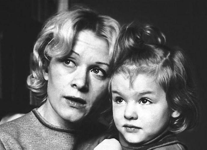 С дочкой Ксюшей (4 года). / Фото: www.liveinternet.ru