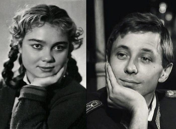 Нина Дорошина и Олег Даль. / Фото: www.tmaudiofm.ru