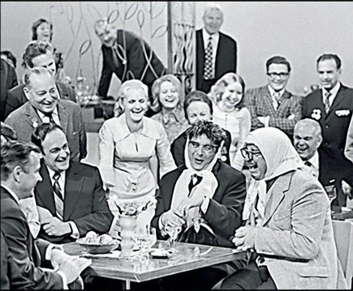 Вероника Маврикиевна и Авдотья Никитична, «Голубой огонёк», 1973 год. / Фото: www.t24.su