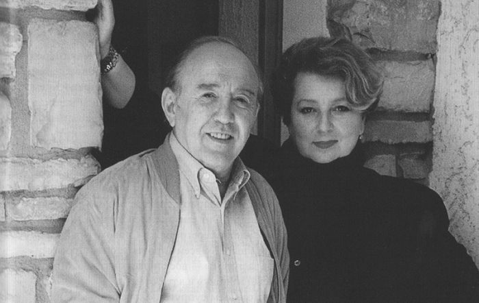 Татьяна Тарасова и Владимир Крайнев. / Фото: www.krainevcompetition.com