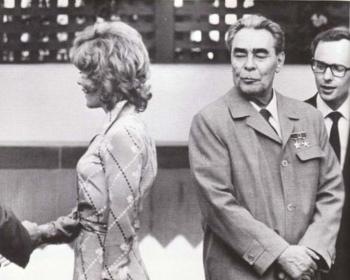 Леонид Брежнев вообще любил женщин. / Фото: www.russobalt.org