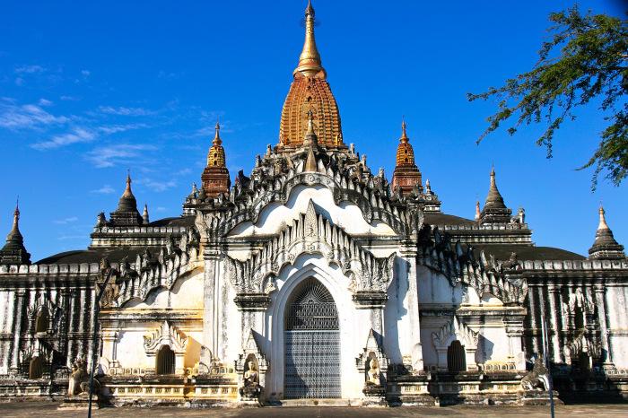 Храм Ананда. / Фото: www.vietnamturizm.ru