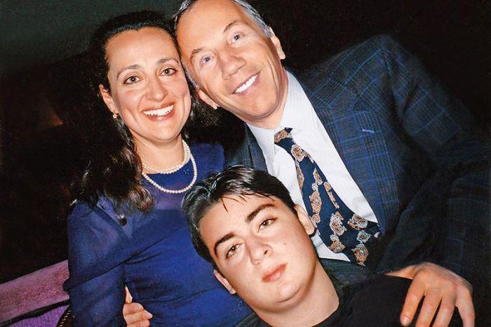 Савелий Крамаров с женой и её сыном. / Фото: www.7days.ru
