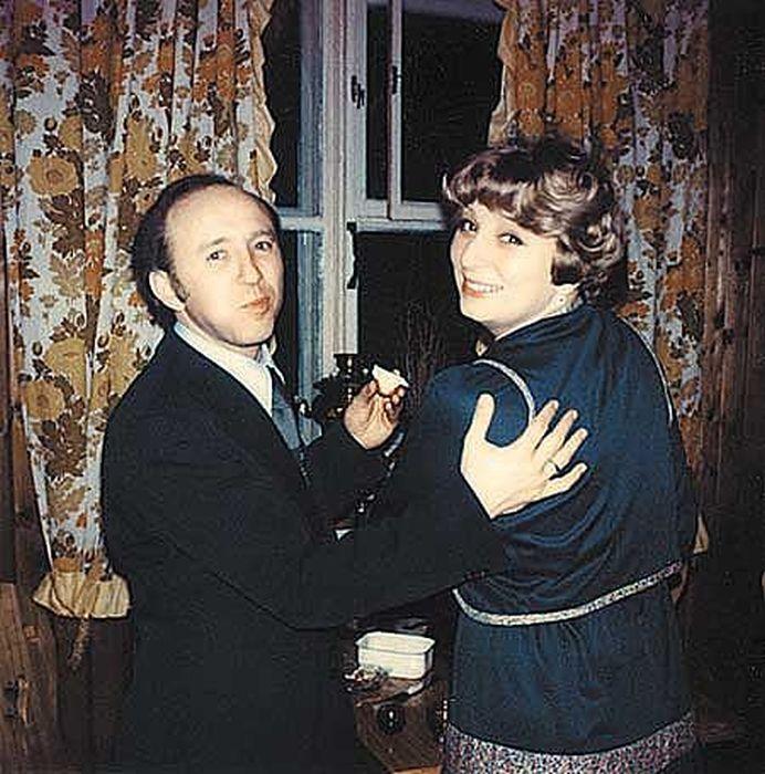 Татьяна Тарасова и Владимир Крайнев. / Фото: www.ltk-cska.ru