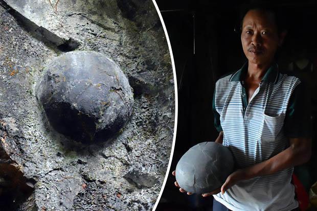 Каменные яйца - явление уникальное. / Фото: www.dailystar.co.uk