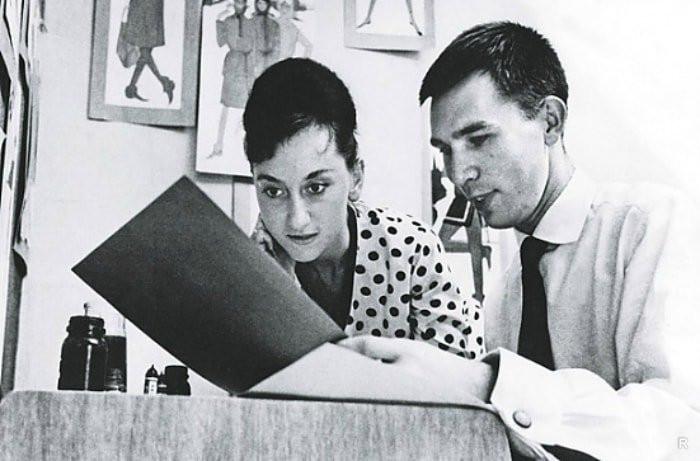 Вячеслав Зайцев с женой Мариной. / Фото: кадр д/ф «Слава и одиночество»