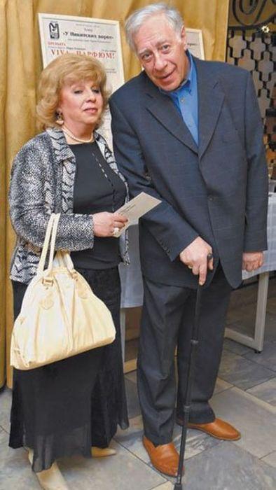 Лариса Рубальская и Давид Розенблат. / Фото: www.muzh-zhena.ucoz.ru