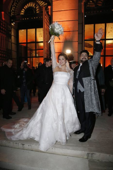 Юсиф Эйвазов и Анна Нетребко в день бракосочетания. / Фото: www.ok-magazine.ru