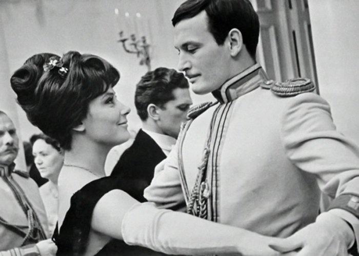 Татьяна Самойлова и Василий Лановой. / Фото: www.radikal.ru
