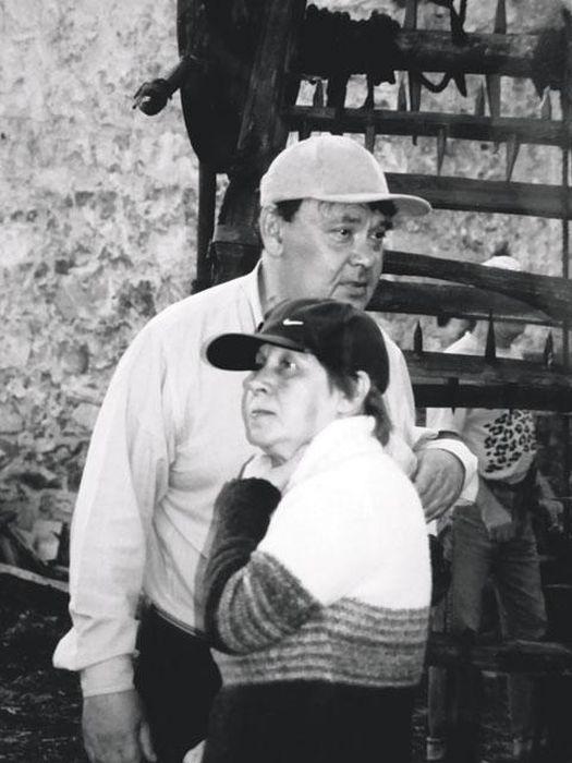 Светлана Кармалита и Алексей Герман. / Фото: www.itogi.ru
