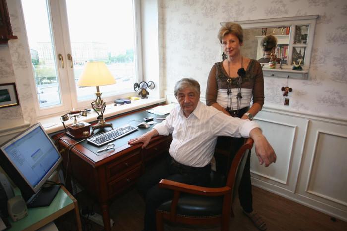 Эдуард Успенский и Элеонора Филина. / Фото: www.woman.ru