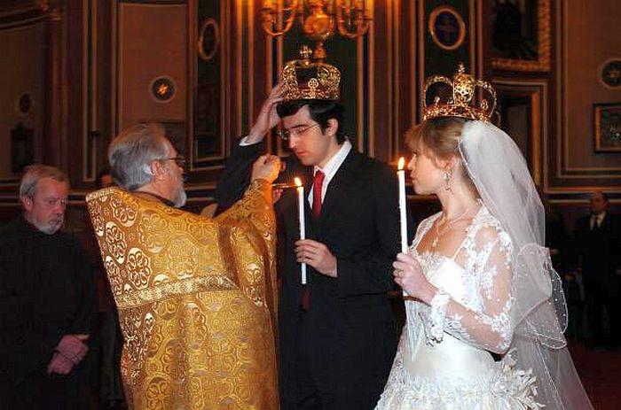 Владимир Крамник и Мари Ло. Венчание. / Фото: www.chesswood.ru