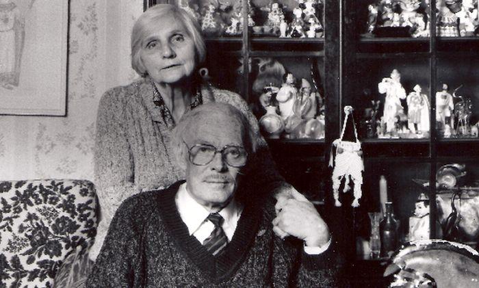 Павел Кадочников и Розалия Котович. / Фото: www.wixstatic.com