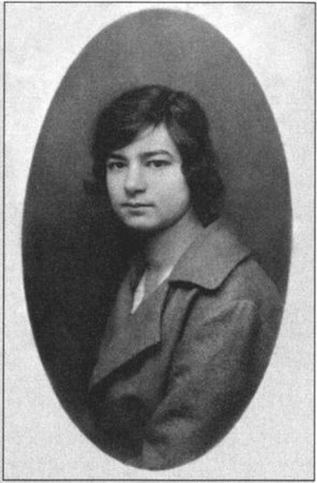 Анна Крылова. Женева, 1921. / Фото: www.profilib.com