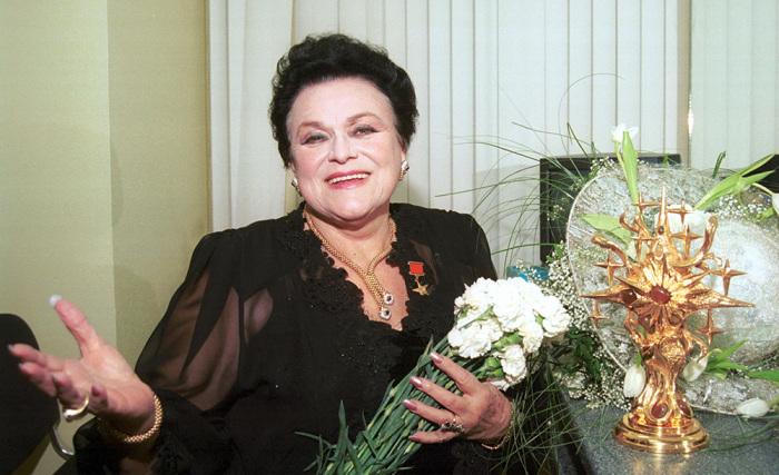 Людмила Зыкина. / Фото: www.музтекст.рф