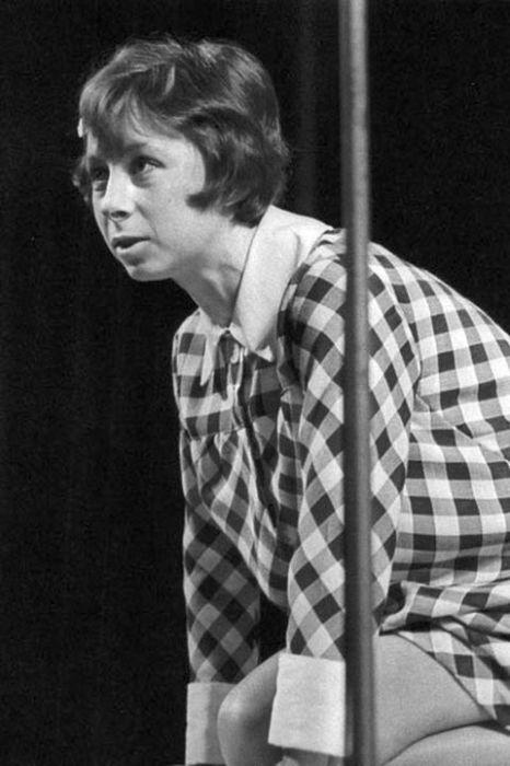 """Сцена из спектакля """"Мой брат играет на кларнете"""",ТЮЗ, 1968 год."""