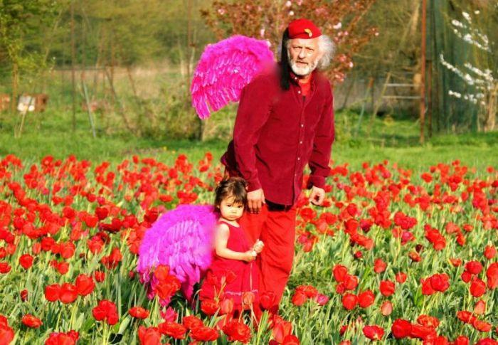 Главным своим учителем Вячеслав Полунин считает внучку Мию. / Фото: www.openmonte.com