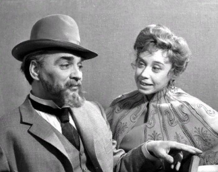 Евгения Ханаева и Лев Иванов в спектакле «Чайка», 1968. / Фото: www.mxat.ru