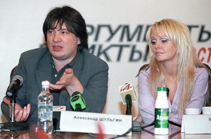 Валерия и Александр Шульгин. / Фото: www.woman.ru