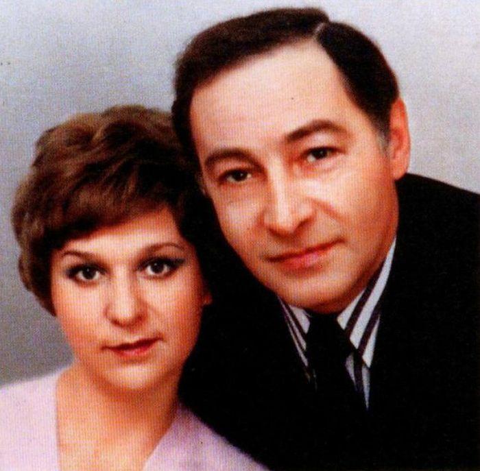 Вячеслав Тихонов с женой Тамарой / Фото: www.kino-teatr.ru