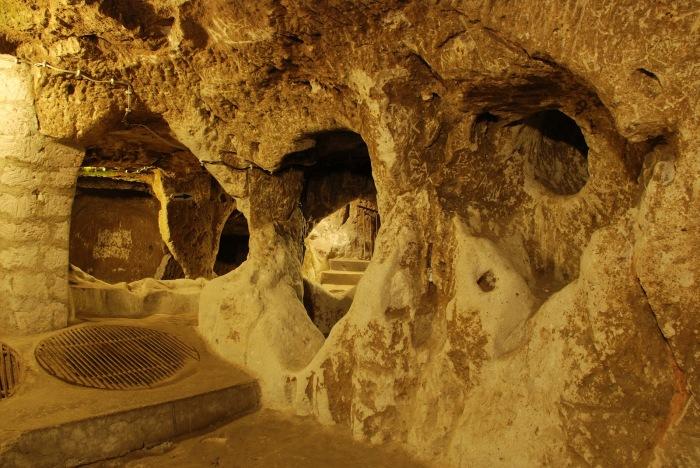 Подземный город. / Фото: www.blog.biletbayi.com