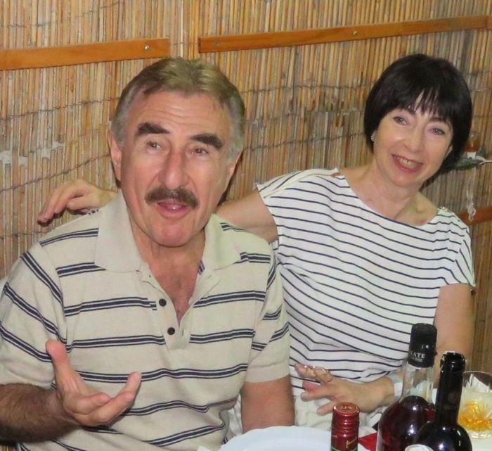 Леонид Каневский и Анна Березина. / Фото: www.isrageo.com