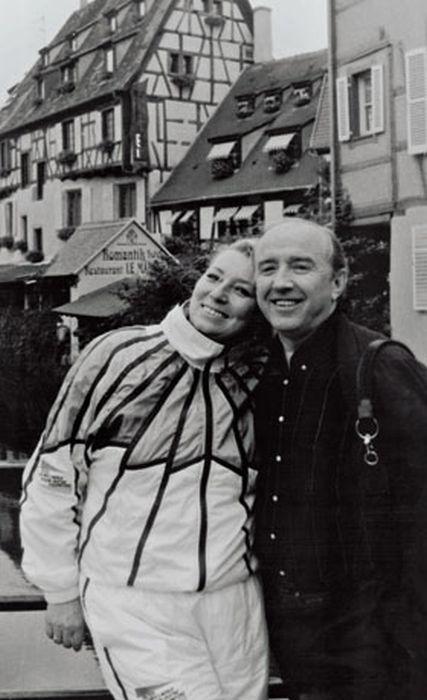 Татьяна Тарасова и Владимир Крайнев. / Фото: www.kommersant.ru