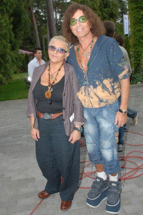 Валерий Леонтьев и Людмила Исакович. / Фото: www.starhit.ru
