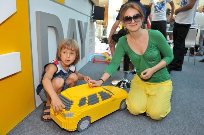 Ольга Будина с сыном. / Фото: www.goodhouse.ru