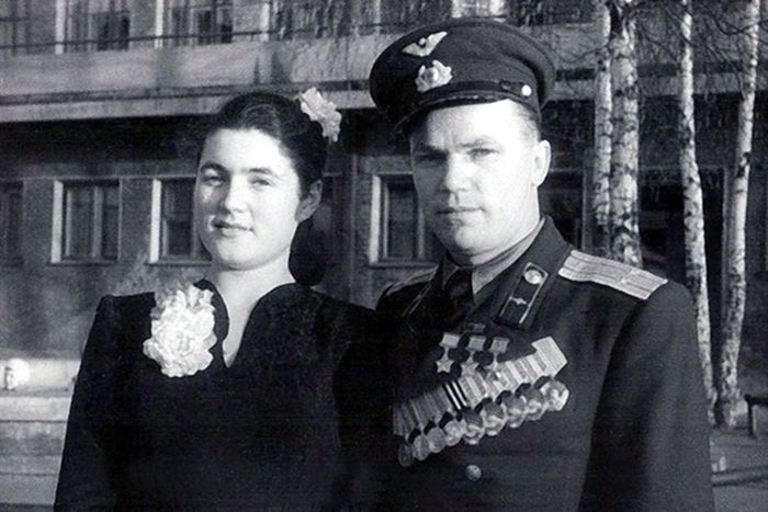Иван Кожедуб с женой Вероникой. / Фото: www.24smi.org