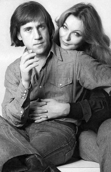 Марина Влади и Владимир Высоцкий. / Фото: www.retrobazar.com