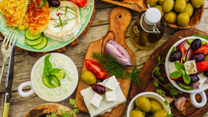 В Греции используют только натуральные продукты хорошего качества. / Фото: www.videopio.com