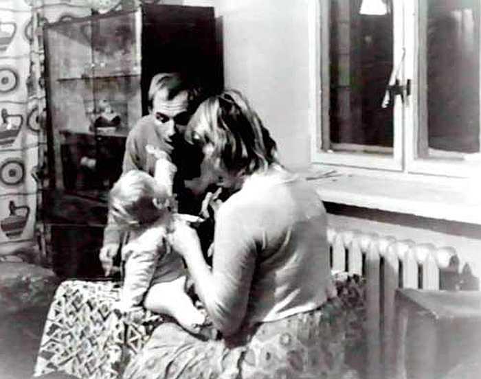 Супруги с маленькой Катюшей. / Фото: семейный архив