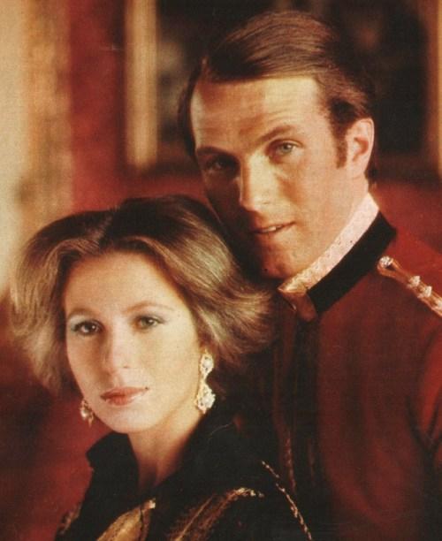 Марк Филлипс и принцесса Анна. / Фото: www.tumblr.com