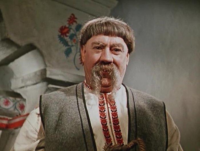 Александр Хвыля, кадр из фильма «Вечера на хуторе близ Диканьки», 1961 год. / Фото: www.twimg.com